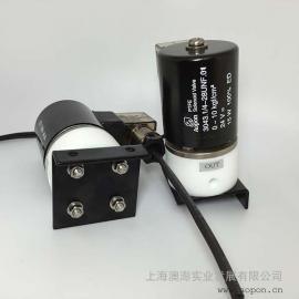 PTFE电磁阀 1/4-28UNF DN2.5 DC24V