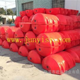 PE塑料浮体 直径700高度1200圆柱形浮体 聚氨酯浮体