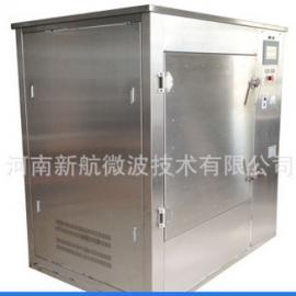 PLC控制10KW商用微波炉决明子荞麦蚕沙填充物干燥杀菌设备