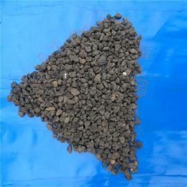 曝气生物滤池 微生物载体专用火山岩滤料