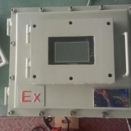 带触摸屏显示窗防爆电控柜