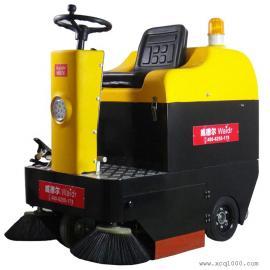 驾驶式扫地机厂家直销工厂用威德尔电瓶扫地车CS-1050