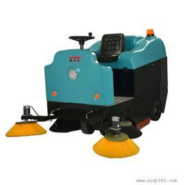 威德尔电瓶驾驶式扫地机扫树叶纸屑灰尘扫地车CS-1600