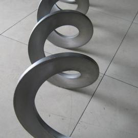 外径190*60*180*5连续冷轧螺旋叶片专业生产