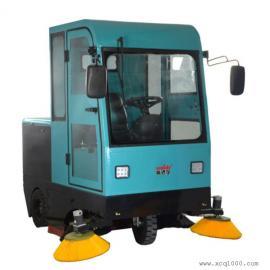 厂区电瓶扫地车道路清扫车威德尔CS-2100驾驶式扫地机