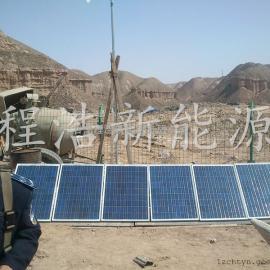甘肃兰州新区1kw风光互补发电设备