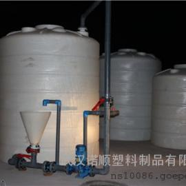 10吨循环复配罐 混凝土外加�└磁涔�