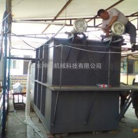 潜水搅拌机污水池水处理玻璃钢化粪池生活污水处理设备