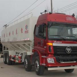 欧曼20吨散装饲料运输车