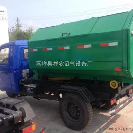 环卫钩臂式垃圾车 时风三轮垃圾车