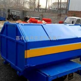 天津3立方勾臂式垃圾箱厂家可定做