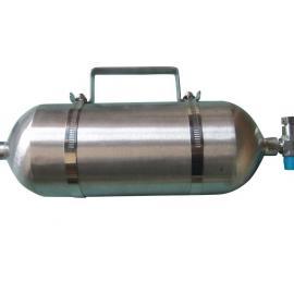 西安普洛帝品牌5000ml无焊点316L材质天然气采样器
