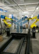 三维柔性组合焊接工装夹具,机器人焊接工作站,好焊台