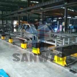 柔性工装夹具典型案例,机器人焊接工装夹具,好焊台
