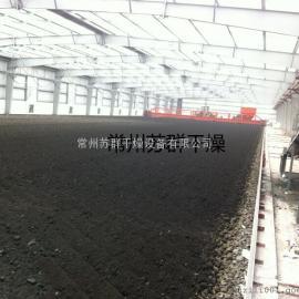 阳光房污泥干化系统,太阳能余热利用污泥干化系统