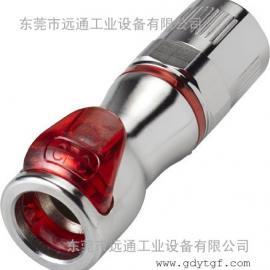 美国CPC塑料快速接头 刀片服务器水冷接头 LQ4系列