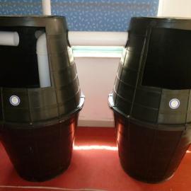 陕西生产制造新型双翁式化粪池(1.0m³/1.5m³)