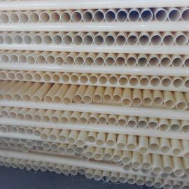 厂家供应ABS管材 abs环保无毒穿线管材 ABS塑料管