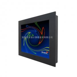 19寸IP65防水嵌入式计算机19寸全封闭工业平板