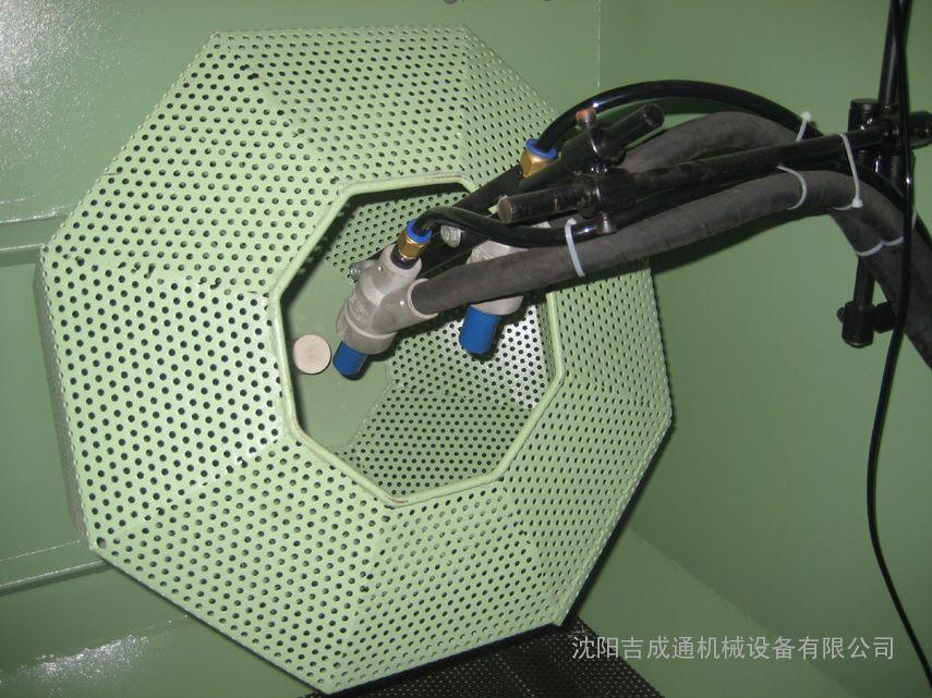 自动滚筒喷砂机