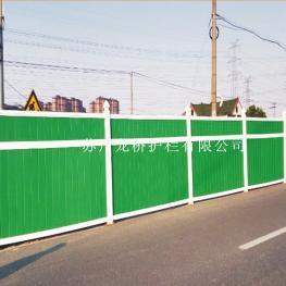 金华PVC道路施工封闭围挡 PVC塑钢围挡 龙桥厂家直销