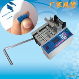 石家庄铜片铜丝裁切机 钢丝编织套管切割机 电线软管切管机