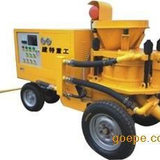 建特重工混凝土湿喷机技术参数