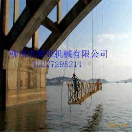 桥梁喷漆刷漆防腐等工程专用博亚牌电动吊篮桥梁检测车