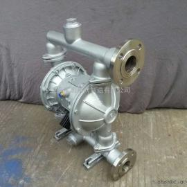 QBY-80气动隔膜泵,不锈钢隔膜泵,F46膜片
