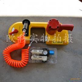 支护材料切割斜切锯 钢板切割锯 JQX-8/5200煤矿用气动线锯