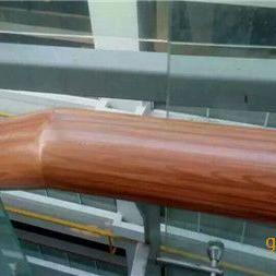 水性仿木纹漆 中鼎木纹漆施工 钢结构仿木纹施工图片