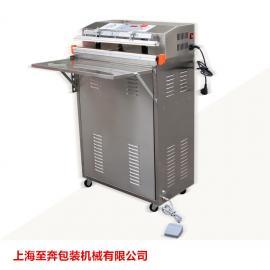 供应600升级版外抽式真空包装机封口机食品真空机可抽乳胶枕头