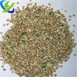 银川鱼塘养殖麦饭石滤料、20-40目麦饭石颗粒
