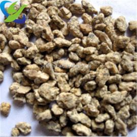 新疆鱼塘养殖麦饭石滤料、农药载体麦饭石颗粒厂家