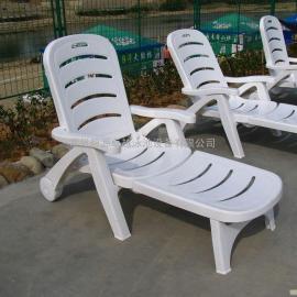 游泳池沙滩椅,塑料沙滩椅,