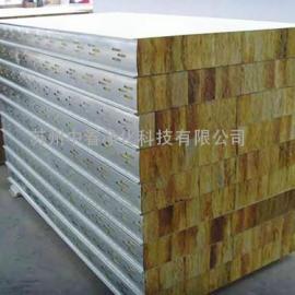 制药车间0.426mm岩棉彩钢板 无尘车间彩钢岩棉夹芯板