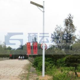 贵州专用20W太阳能路灯LED一体化庭院灯户外照明灯