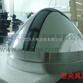 超大尺寸反射镜加工 400mm铝反射镜光学加工 镀金属膜 反射率98%