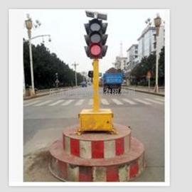 太阳能移动信号灯【道路安全红绿灯】_移动式