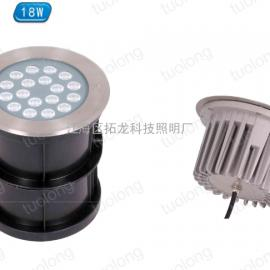 18W大功率LED偏光地埋灯暖白光