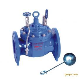 厂家直销 100X 遥控浮球阀 水位控制阀
