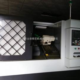 台荣25B数控车床 连体刀塔式斜床身液压车床