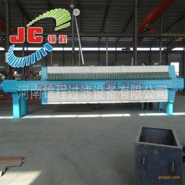 河南锦程压滤机1000型聚丙烯机械压紧板框式压滤机/28-J
