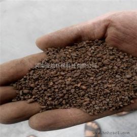 锰砂滤料外观黑褐色,近圆形,主要成份是二氧化锰