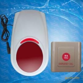 无线残疾人声光报警器无障碍卫生间呼叫按钮220V厕所报*