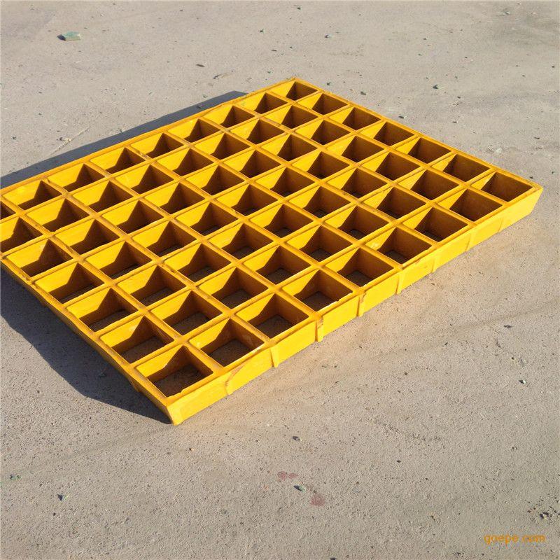 污水池花纹盖板 环保公司地格栅板