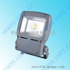 200W防水防尘防眩LED投光灯,广场专用防水防尘LED灯