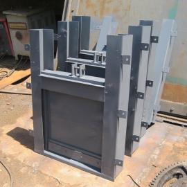 手动渠道钢制闸门价格 手动不锈钢渠道闸门厂家