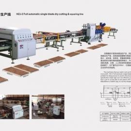 佛山厂家全自动干式陶瓷切割磨边机 石材干式切割机