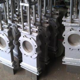 SCZ73X/H手动穿透式刀型闸阀、闸板阀、穿透式插板阀